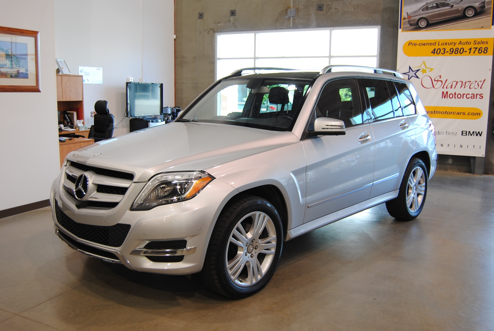 2015 mercedes glk250 bluetec 4matic w nav starwest motorcars. Black Bedroom Furniture Sets. Home Design Ideas